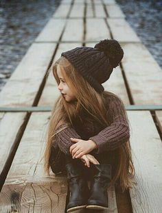 Darling Hairstyle for Little Girls with Long Hair