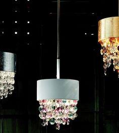 Rippvalgusti Ola´, Effektne rippvalgusti Itaalia klaasist ripatsitega. Disain laevalgustid, Disainvalgustid, Kodu rippvalgustid, Koduvalgustid. Bränd:  Masiero
