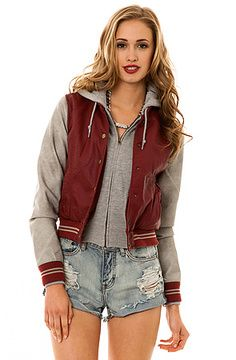 Obey The Varsity Lover Jacket on shopstyle.com