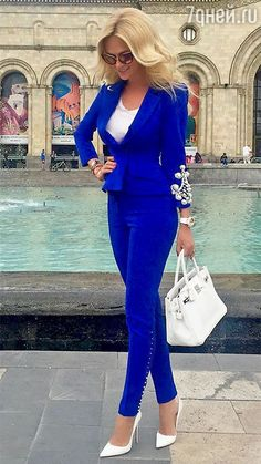 Clothes For Work Career Blazers New Ideas Suit Fashion, Work Fashion, Trendy Fashion, Fashion Dresses, Fashion Looks, Womens Fashion, Trendy Style, Style Fashion, Hijab Fashion