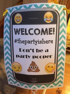 Emoji's Birthday Party Ideas | Photo 5 of 11