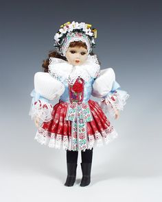 Slovak Doll.  Every girl in the family had at least one of these.  It was a staple in my Gram's china cabinet.