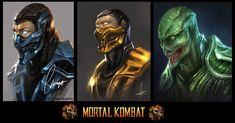 Mortal kombat by ChekydotStudio.deviantart.com on @deviantART
