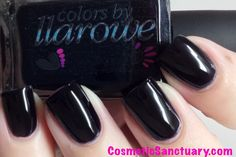 Colors by Llarowe - Licorice (Jelly Bean Collection) / Cosmetic-Sanctuary *True Black Jelly!*