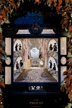 Holiday Season window displays 2011 by Douglas Little, Van Cleef & Arpels New York Boutique.