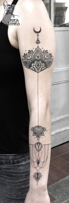 Mirja Fenris Tattoo  Would also look cool on  back of leg.