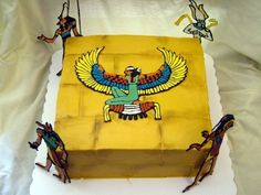 Egyptian Cake By toodlesjupiter on CakeCentral.com