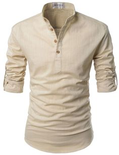 Ibiza Roll-Up Linen Shirt