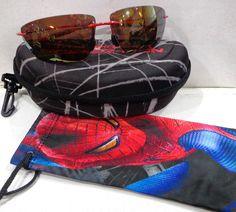 "RARE Maui Jim ""Kekoa"" Spider-Man Polarized Sunglasses w/ case  #MauiJim #Sport #sunglaseses"