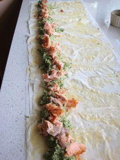 Prep Salmon Filo Spiral #thermomix #recipe