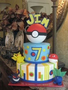 Pokemon Birthday Cake By drakegore on CakeCentral.com