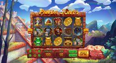 """Ознакомьтесь с этим проектом @Behance: «Slot machine - """"Panda Jones""""» https://www.behance.net/gallery/50114055/Slot-machine-Panda-Jones"""