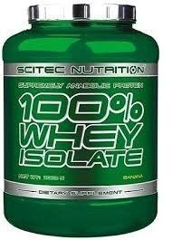La fórmula de proteína 100% Whey Isolate fue desarrollada con dos objetivos principales en mente: conseguir la concentración más alta de proteínas en un producto saboreado (83%), y permitir que el consumidor reciba una proteína que suministra la más importante y rápida afluencia de aminoácidos en los músculos para conseguir así el mayor aumento de masa magra.