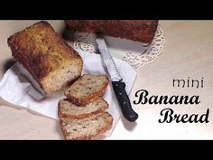 Polymer Clay Banana Bread - Miniature Food Tutorial - YouTube