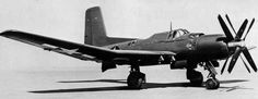 fcba:  Douglas XTB2D-1 Skypirate experimental torpedo bomber c. 1945. The Skypirate flew for the first time in 1945 but was scrapped by 1948. (US Navy)