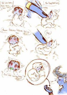 loki bébé Jotun