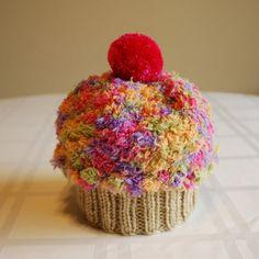 cutie cupcake baby hat