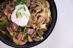 the chew | Recipe  | Clinton Kelly's Spring Stroganaff