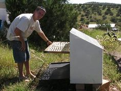 Solarpowered DIY food dryer - RAW preservation is the max - check out this rocking tutorial site for makers of many categories