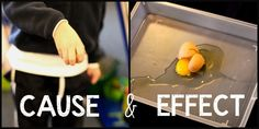 science activities to teach cause and effect- my students loved this!