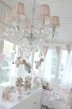 Wow this chandelier looks beautiful in the room