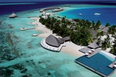 Huvafen Fushi Is A Luxury Hotel In North Male Atoll Maldives Offers Exclusive Beach Villas Overwater Bungalows Great Food Spa