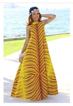 Maxi African dress ,Dashiki Dress, African women's dress, handmade dashiki dress, African women clothing African Dresses For Women, African Print Dresses, African Attire, African Fashion Dresses, African Women, African Prints, Fashion Outfits, African Wedding Dress, Ankara Fashion