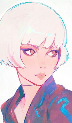 Kuvshinov Ilya is creating Illustrations and Comics Manga Art, Anime Art, Art Sketches, Art Drawings, Kuvshinov Ilya, Character Art, Character Design, Character Ideas, Character Concept