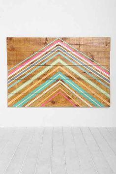 Oh My Wood! Pyramid Headboard