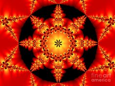 Digital Art Digital Art - Fractal In The Centre by Gabiw Art