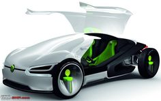 future automobiles | VW has peeped into the future of cars with VW 2, 3, 4 wheelers in the ...