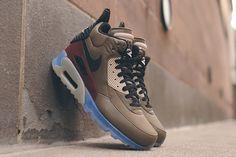 NIKE AIR MAX 90 SNEAKERBOOT (DARK DUNE/BARKROOT BROWN) | Sneaker Freaker