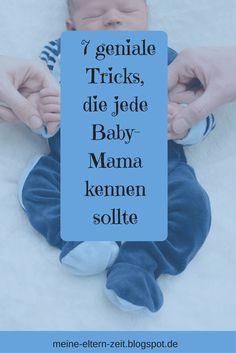 7 geniale Tricks, die jede Baby-Mama kennen sollte