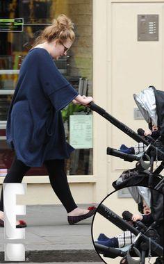 Adele sporting her Uppababy Vista - Jake Black