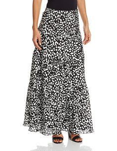 Kasper Women's Dot Printed Maxi Skirt * This is an Amazon Affiliate link. Check out the image by visiting the link.