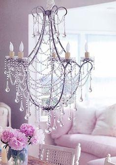 Pretty Rachel Ashwell chandelier