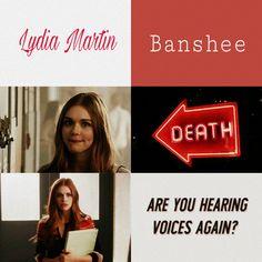 Teen Wolf/ Lydia Martin aesthetic. #ykaya_crn