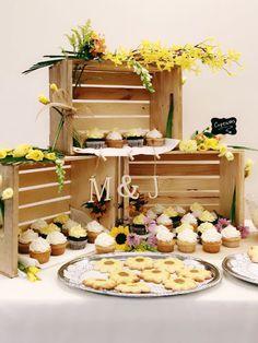 Cupcakes for Melanie's Bridal shower!