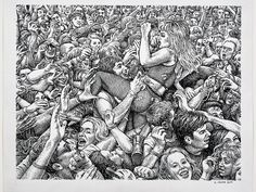 2015 - Celebs in Comic Form! See Artist R.Crumb Transform Coco Austin, Lady Gaga and Robert Crumb, Jamie Hewlett, Comic Books Art, Comic Art, Fritz The Cat, Alternative Comics, Wow Art, Photo Reference, Illustrations