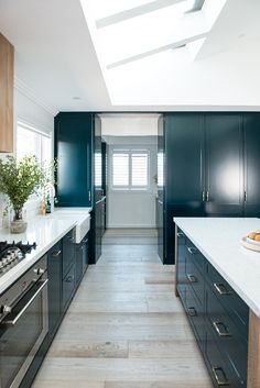 A Teal Kitchen