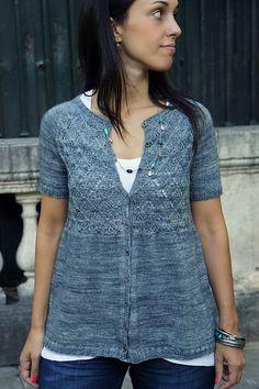 Joji Window To My Soul Cardigan Knitting Pattern + Free Shipping!