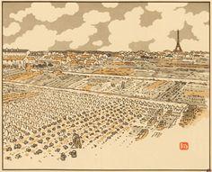 Paris à travers les lithographies d'Henri Rivière | Un Jour de plus à Paris