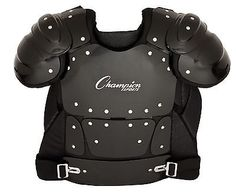 Umpires Protection 159051: Champion Sports Umpire Chest Protector 17-Inch BUY IT NOW ONLY: $83.57