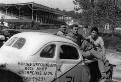 1950s race cars | charleston w va stock car racing or sometimes known as jalopy racing