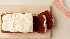 Buttermilk keeps this crowd-pleasing cake perfectly moist. You can bake the loaf a couple days in advance and finish with cream cheese frosting just before serving. (recipes with buttermilk martha stewart) Loaf Tin Recipes, Buttermilk Recipes, Pound Cake Recipes, Pound Cakes, Just Desserts, Delicious Desserts, Dessert Recipes, Dessert Drinks, Dessert Ideas