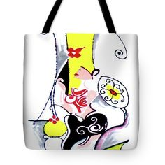 Figure Art Tote Bag featuring the painting Inspirational- II by Rupam Shah