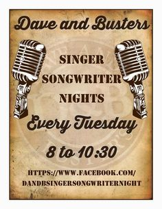 SoundOff: July 8: #NashvilleMusic Each Tuesday: Amber's Drive member Jim Huish hosts Dave and Buster's Nashville Singer Songwriter Nights at Dave & Buster's Nashville at Opry Mills Mall, each Tuesday 8 - 10:30 pm