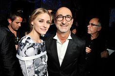 Olivia Palermo and Pierre Hardy