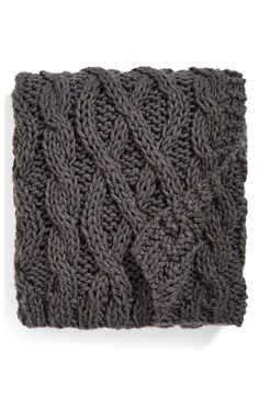 Free shipping and returns on Nordstrom at Home Hand Knit Cable Throw at Nordstrom.com. Wrap up and get cozy in a lavish throw hand-knit in a thick, classic cable pattern.
