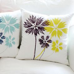 great graphic flowers